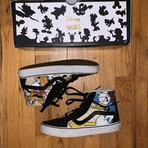 DISNEY Limited Edition VANS (USED)